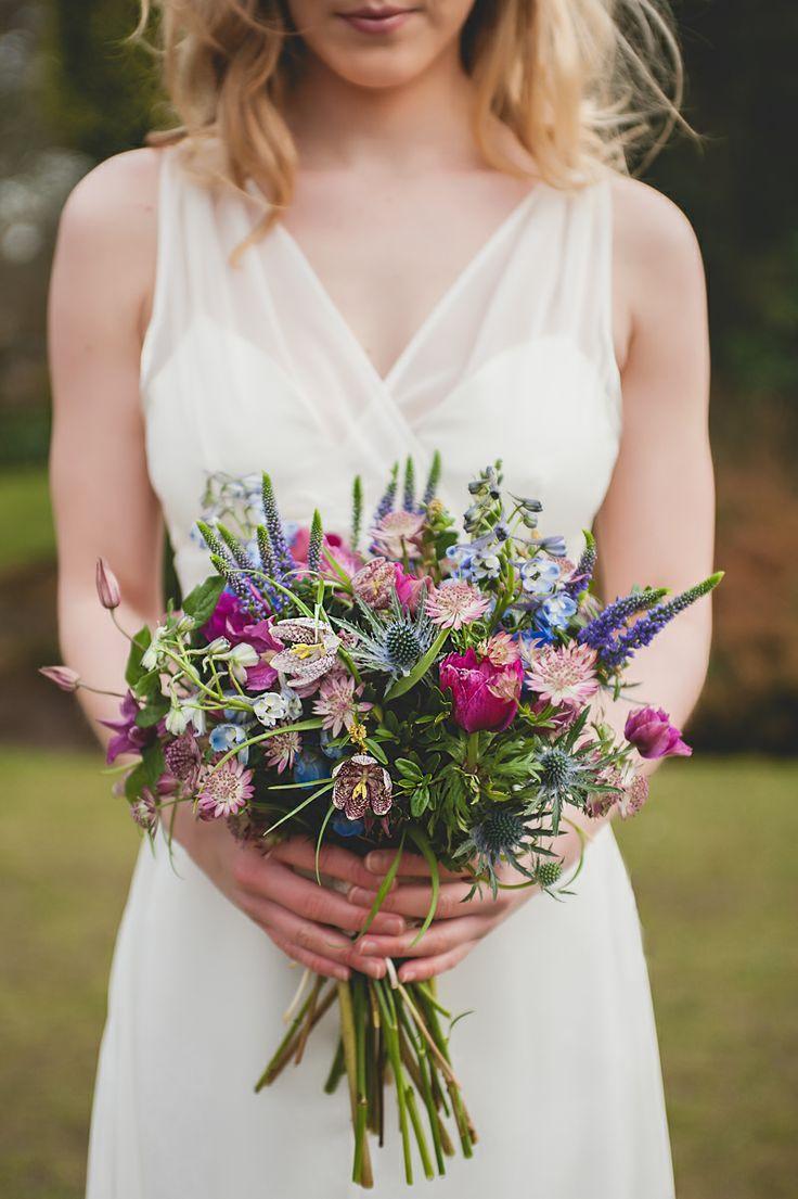 bouquet de mariee rustique et boheme                                                                                                                                                                                 Plus