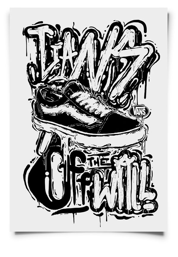 10 best vans off the wall type images on Pinterest