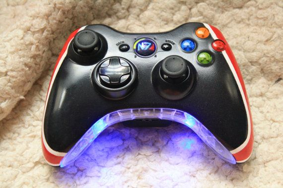 Brand New Mass Effect Controller Xbox 360 by KingsleyFreedomShow