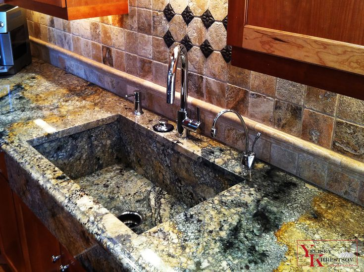 108 best cool natural stone kitchen sinks in granite marble and granite counter with granite sink workwithnaturefo