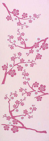 花梅 - Japanese textile