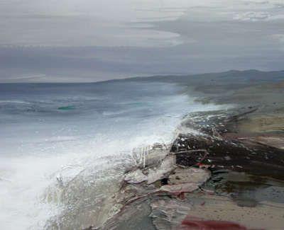 Bushe C Arugged Shoreand Araging Tide Saligo Bay 103X74