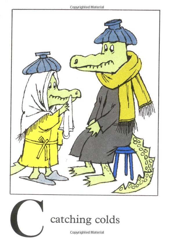 Alligators All Around (The Nutshell Library) by Maurice Sendak