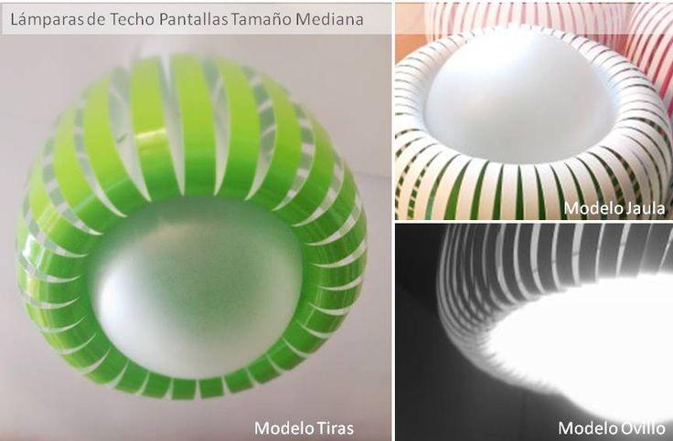 Lámpara Techo 26cm Diseño Modernas De Colores / Infantiles $ 590.0