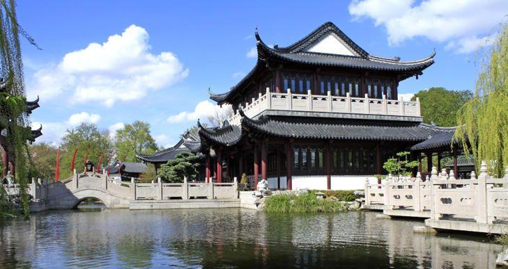 Chinesischer Garten | Luisenpark, Mannheim