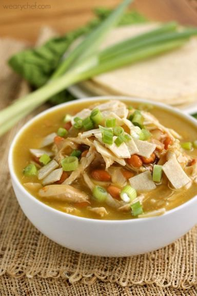 Green Chicken Enchilada Soup Recipe