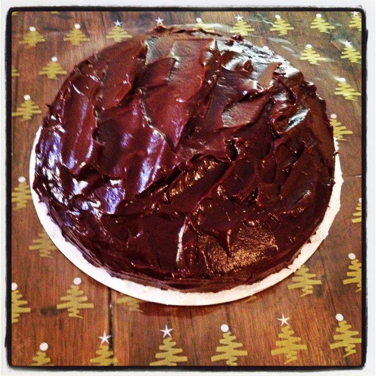 Chocolate fudge cake!