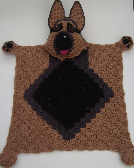 Radley Dog Knitting Pattern : 17 Best images about animal blankets on Pinterest ...
