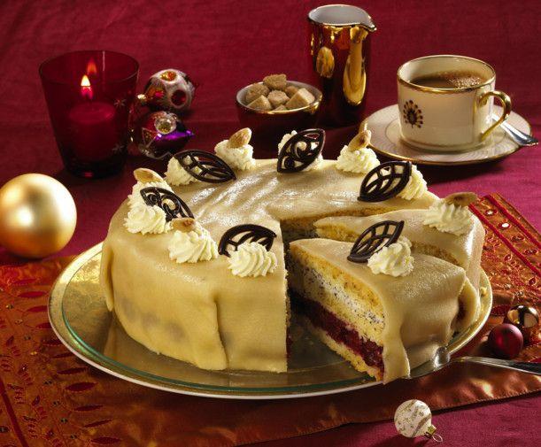 Unser beliebtes Rezept für Kirsch-Mohn-Marzipan-Torte und mehr als 55.000 weitere kostenlose Rezepte auf LECKER.de.
