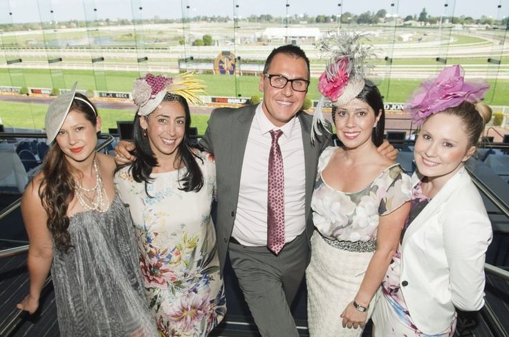 Heading Out Hair & Beauty - Official sponsors of the Melbourne Racing Club's, Caulfield Cup 2012 #ladiesluncheon #caulfieldcup #melbourne #jesintacampbell #BMW #clintstanaway #hair #springracing #headingout #chadstone #fashioncapital #davidjones