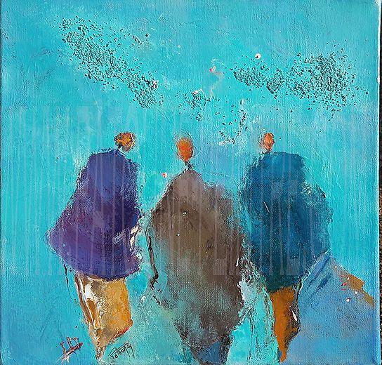 EN MODEcréations,collections ! A 2 pas d'Avignon,Uzès, Nimes, DIRECTION le sud, Galerie de Patoune Laudun gard /achat œuvre huile/chèque cadeau en ligne