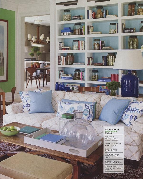 bryn alexandra: Loving Lately......  Great built-ins, beautifully styled.