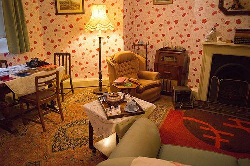 1940's Living Room | Hughenden Manor | Derek Winterburn | Flickr