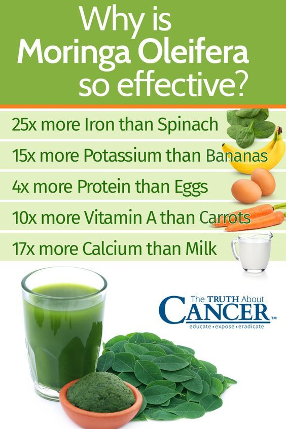 Do you consume Moringa Oleifera? If not, here are the reasons why you should: 25x more iron than spinach, 15x more potassium than bananas, 4x more protein than eggs, 10x more vitamin A than carrots, 17x more calcium than milk! One French study found that Moringa root, as a powerful anti-inflammatory, was effective for relieving the symptoms of rheumatoid arthritis and respiratory conditions such as bronchitis in laboratory rats. Click on the image above to check it out!