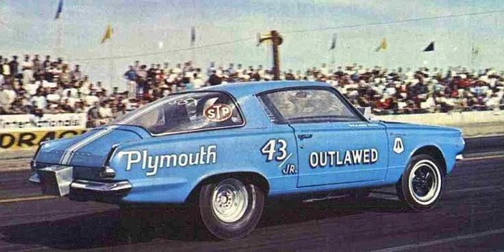 Richard Petty's Barracuda drag car
