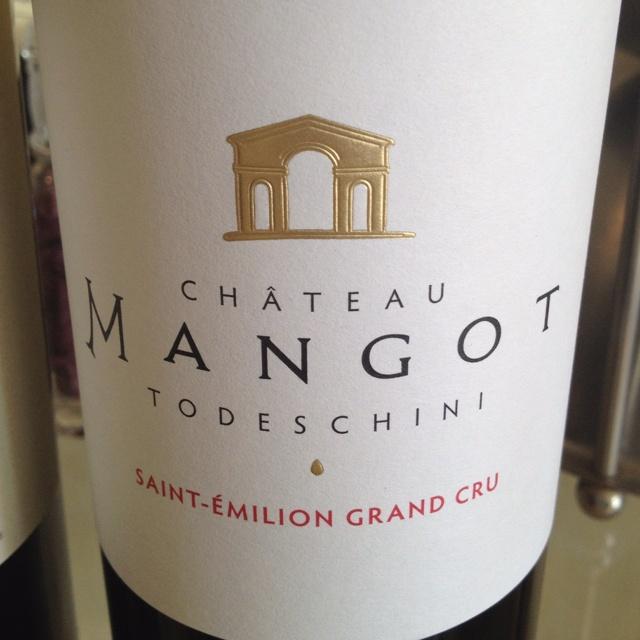 Chateau Mangot Todeschini - Saint Emilion Grand Cru (bordeaux wine)