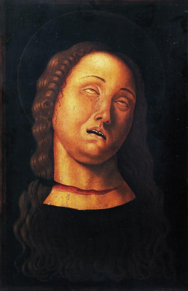 Leonelli Antonio, Antonio da Crevalcore Testa di Santa Caterina, XV d.C.