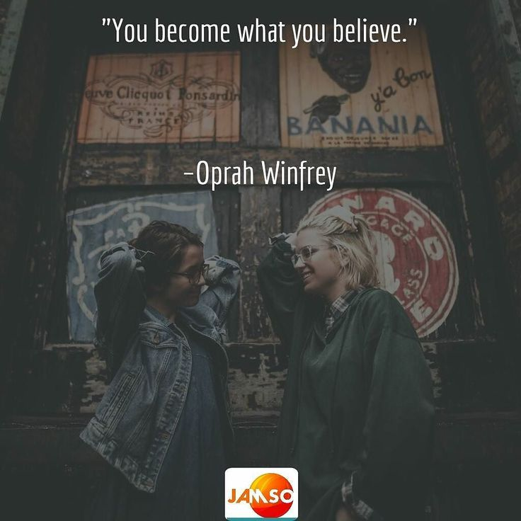 "You better believe it.  Click our bio to find out more. ""You become what you believe.""   Oprah Winfrey"