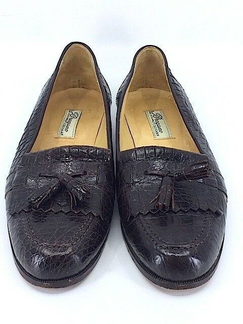 d8fdc9a74cf Bragano Cole Haan Mens Crocodile Leather Woven Tassel Loafers Dress Shoes  Sz 9 N - Dress Shoes Men #dressshoes #mendressshoes - $149.00 End Date:  Monday ...