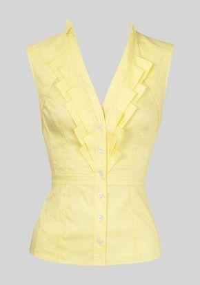 Analizar blusas de corte sin mangas