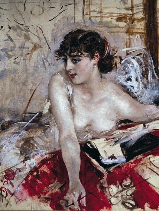 Утреннее письмо, 1884. Джованни Больдини