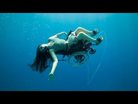 Inspiring! When Sue Austin got a power chair 16 years ago, she felt a tremendous sense of freedom -- yet others looked at her as though she had lost something. In her art, she aims to convey the spirit of wonder she feels wheeling through the world. Includes thrilling footage of an underwater wheelchair that lets her explore ocean beds, drifting through sc...