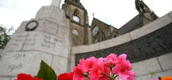 Bury town centre memorial