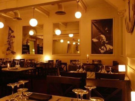 Restaurante oquendo traditional cooking with modern - Interiorismo donostia ...