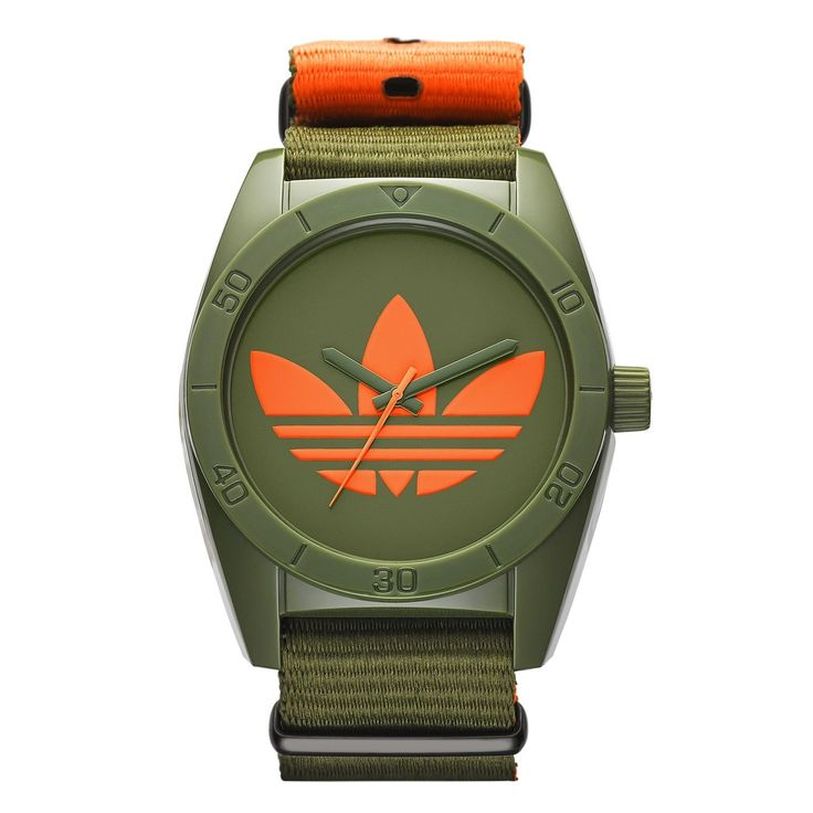 Adidas Men's ADH2876 Santiago Ion Plated Steel Watch