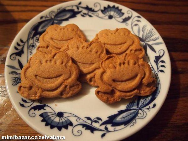 Bezlepkové sušenky - vanilkové, skořicové, kakaové