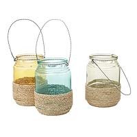 .Hanging Ropes, Decor Ideas, Decks Ideas, Beach House, Ropes Lanterns Uncommongood, House Stuff, Diy Lanterns, Crafty Side, Baby Shower