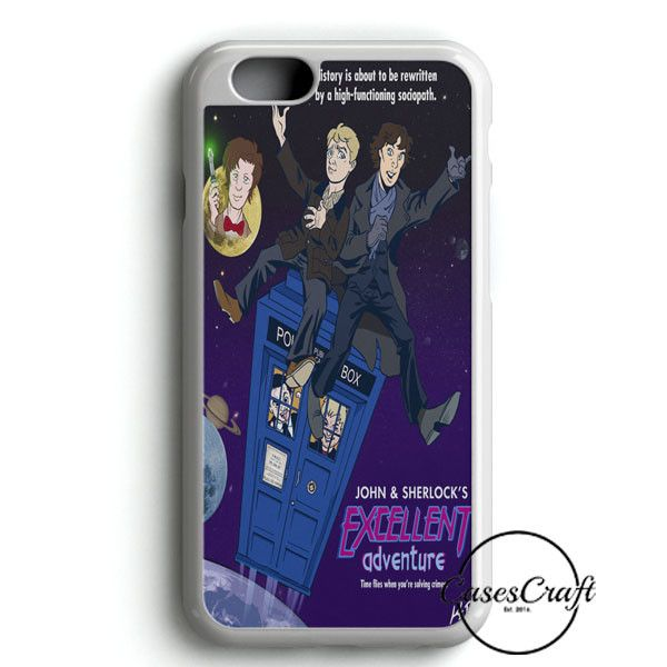 Tardis Sherlock John iPhone 6/6S Case | casescraft