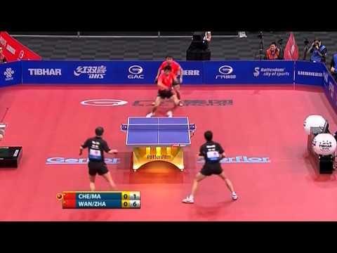 卓球 世界選手権2011 スーパープレイ