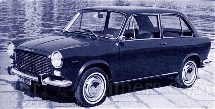 (1965) Autobianchi Primula | Gallery | Veteráni i veterán - Oldtimers - Historická vozidla