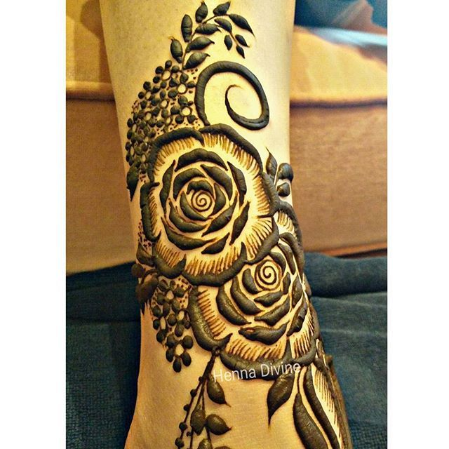 25+ Best Ideas About Rose Henna On Pinterest