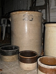 Old crocks!  Love them!  .........need a 20 gallon one I have a 25