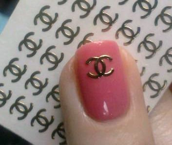 Pin By Lisa Barr On Fashion And Style I Dig Nails Nail Decals Chanel