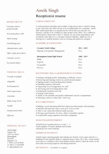 Cyber Security Student Resume Best Of Student Cv Template Samples Student Jobs Graduate Cv In 2020 Student Resume Student Jobs Security Resume