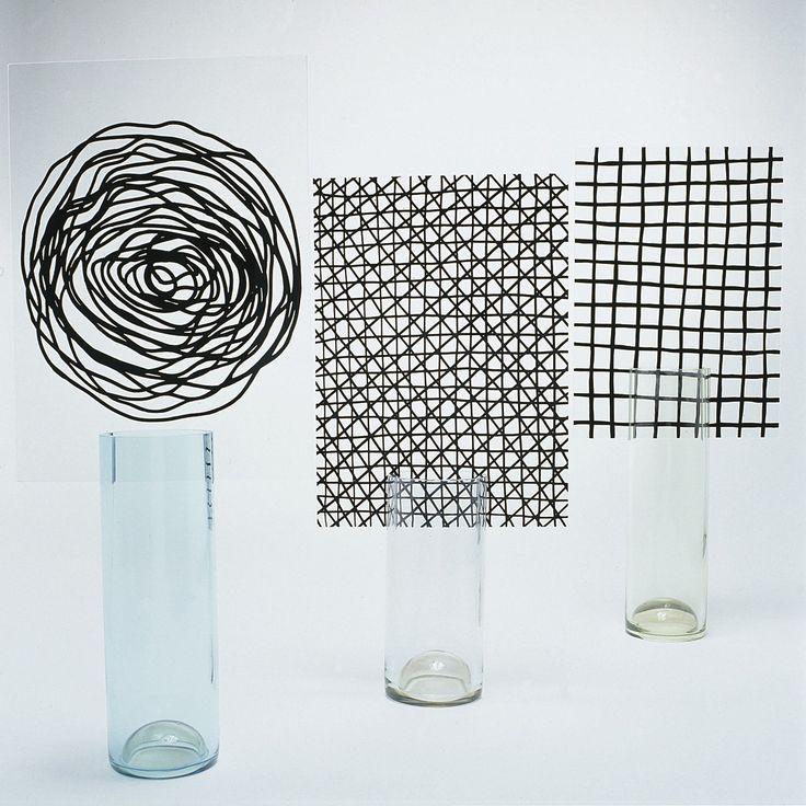 Pierre Charpin, Collection Torno subito, série écran, 2000-2001 | photograph  © Jean-Luc Maby, CIRVA | #glass #glasswork #design #mudac