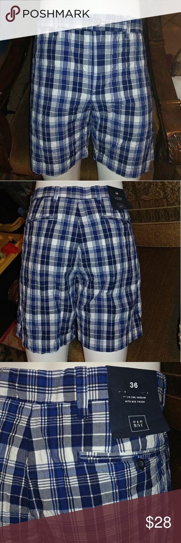 Gap plaid Shorts Gap plaid Shorts  blue GAP Shorts