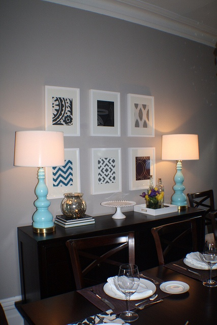 Dining Room Buffet Styling