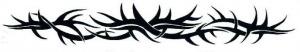 Thorny Tribal XXL Tattoo #temporarytattoos #temporarytattoo #t4aw #tattooforaweek #tribal #tribaltattoo #thorny #thornytattoo