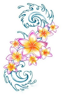 Plumeria Tattoo: Plumeria Tattoo Designs 2