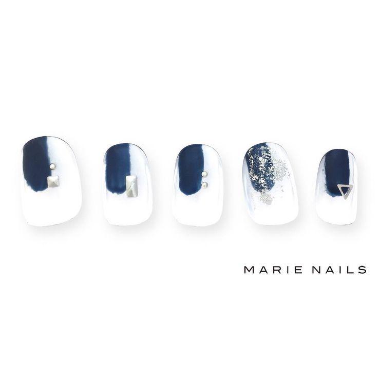 #マリーネイルズ #marienails #ネイルデザイン #かわいい #ネイル #kawaii #kyoto #ジェルネイル#trend #nail #toocute #pretty #nails #ファッション #naildesign #awsome #beautiful #nailart #tokyo #fashion #ootd #nailist #ネイリスト #ショートネイル #gelnails #instanails #marienails_hawaii #cool #blue #fashionista