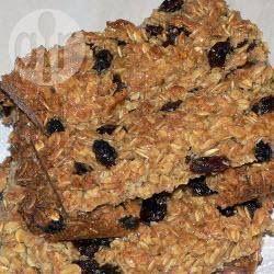 Recipe photo: Apricot oat flapjacks