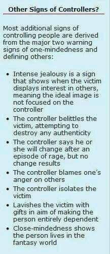 dating a control freak