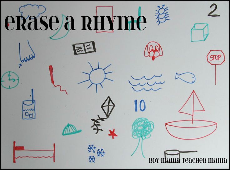 Erase a Rhyme Game