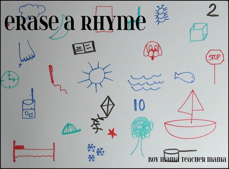 Erase a Rhyme Game - like the hfw option