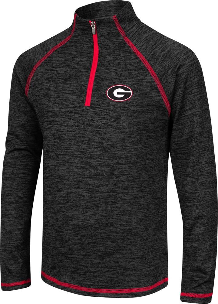 Girls Quarter Zip Georgia Bulldogs UGA Long Sleeve Windshirt