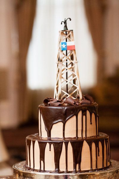 Oil Derrick Cake Cake Ideas And Designs
